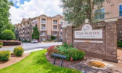Community Signage, The Savoy, 2