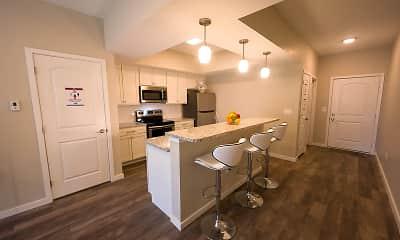 Kitchen, Demorest Town Homes, 1