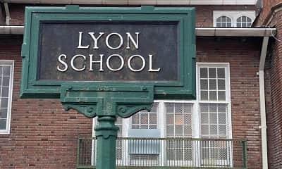 Building, Lyon School Apartments, 1