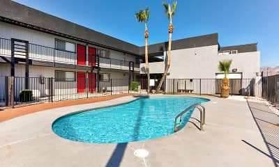 Pool, AZ Commons, 1