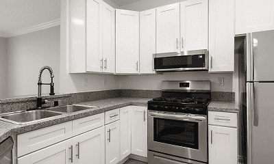 Kitchen, Clarington Court Apartments, 1