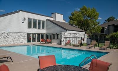 Pool, Aspen Park Apartments, 2