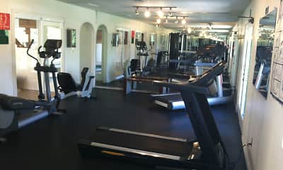Fitness Weight Room, The Verge Apartments, 2