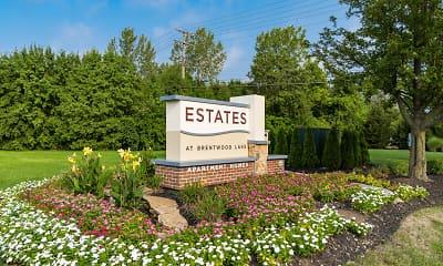 Community Signage, The Estates at Brentwood Lake, 0