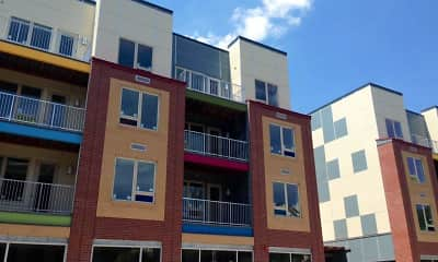 Building, Doughboy Square Apartments, 0