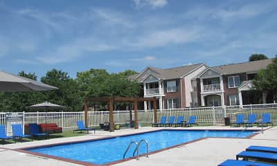 Pool, Steeplechase Apartments, 1