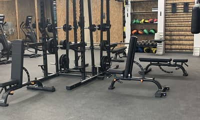 Fitness Weight Room, Brim & Crown, 1