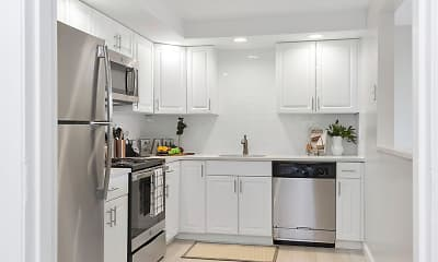 Kitchen, Stonehill Towers, 0