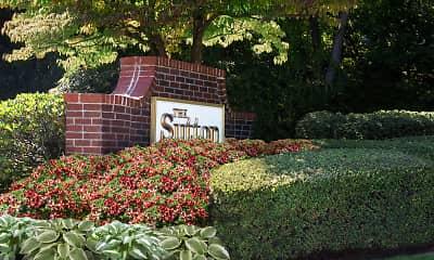 Community Signage, Sutton Apartments, 1