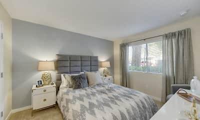 Bedroom, West Oaks Apartments, 1