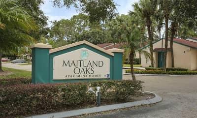 Community Signage, Maitland Oaks, 2