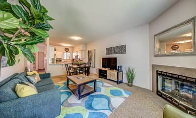 Living Room, Chase Village, 0