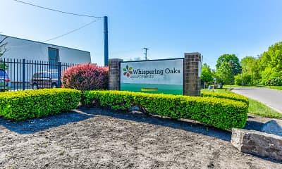 Community Signage, Whispering Oaks Apartments, 2