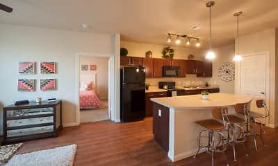 Kitchen, Oak Tree, 1