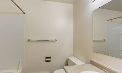 Bathroom, Stafford Court Apartments, 2