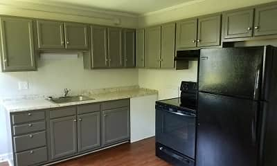 Kitchen, Reynolda Manor Apartments, 1
