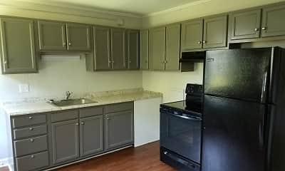 Kitchen, Reynolda Manor Apartments, 1