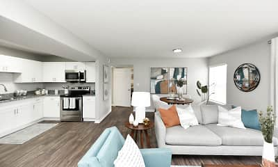 Living Room, Emery Apartment Homes, 0