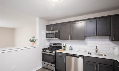 Kitchen, Lakeside at Briant Park, 1