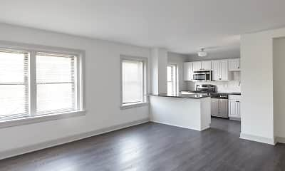 Living Room, Newbern Apartments, 0