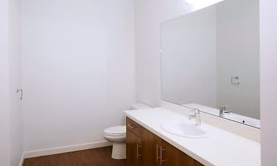 Bathroom, Park Square at Seven Oaks Apartments, 2