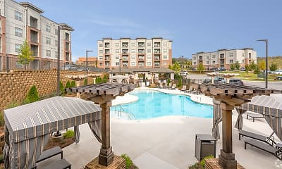 Pool, Aventine Northshore Apartments, 1