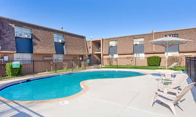 Pool, Chalet Apartments, 1