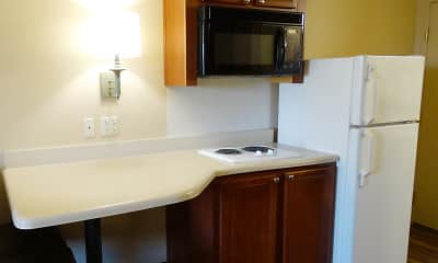 Kitchen, Furnished Studio - Dallas - Richardson, 1