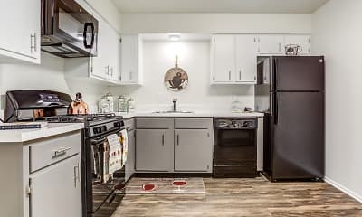 Kitchen, The Township at St. Charles Apartments, 0