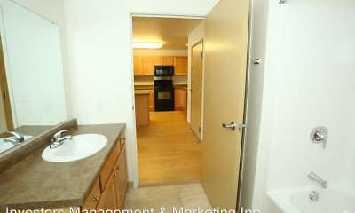 Bathroom, Badland Apartments, 2