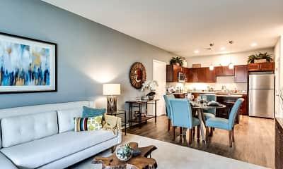 Living Room, Union Flats, 1