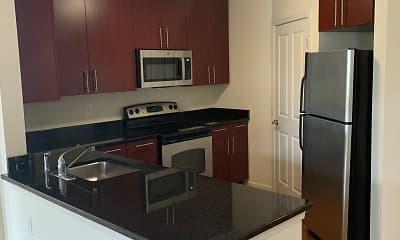 Kitchen, Bijou Square, 1