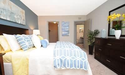 Bedroom, Cabana Apartments, 1