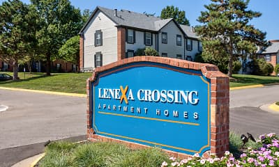 Community Signage, Lenexa Crossing Apartments, 2