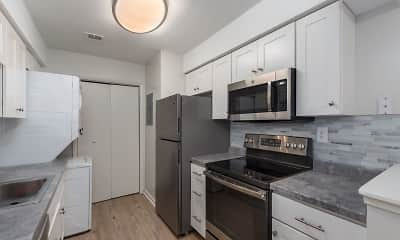 Kitchen, Country Club Apartments, 2