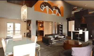 Living Room, Serene Village, 0