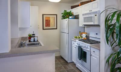 Kitchen, Terra Vista Apartments & Townhomes, 0