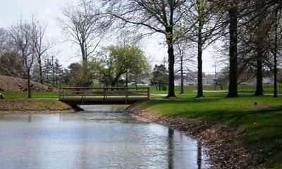 Lake, The Gardens at Aqua, 0
