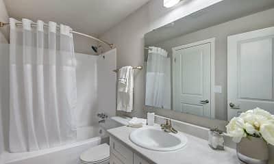 Bathroom, Timbre Apartments, 2