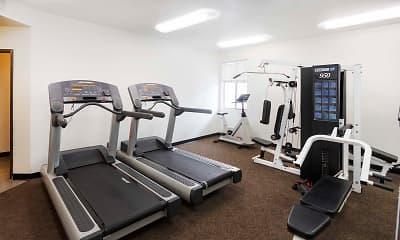 Fitness Weight Room, White Oak Gardens, 1