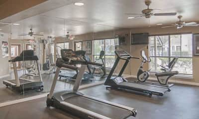 Fitness Weight Room, Mainstream Apartments, 1