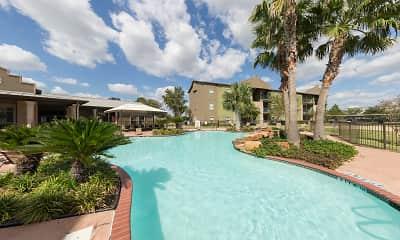Pool, San Pedro Apartments at Sharyland Plantation, 0