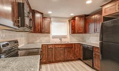 Kitchen, Lancaster Apartments, 1