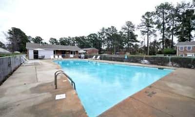 Pool, Azalea Gardens Apartments, 2