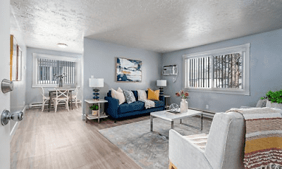 Living Room, Morton Meadows Apartments, 1