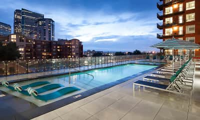 Pool, Radius Uptown Apartments, 0