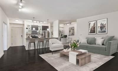 Living Room, Camden Fairfax Corner, 1
