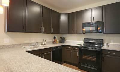 Kitchen, Oak Grove Crossing Luxury Apartment Homes, 1