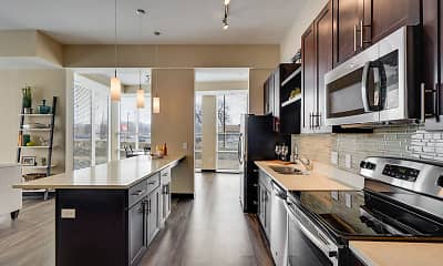 Kitchen, One Southdale Place Apartments, 1