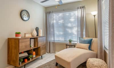 Living Room, The Summit at Metrowest Apartments, 1